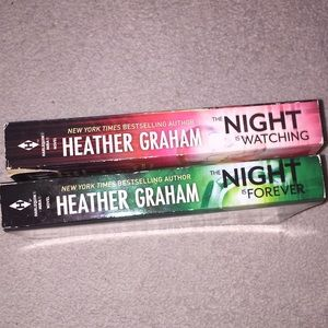 Heather Graham The Night is Forever & Watching